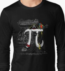 Wicked Pirate Pi Day Long Sleeve T-Shirt