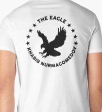 Khabib The Eagle Nurmagomedov Men's V-Neck T-Shirt