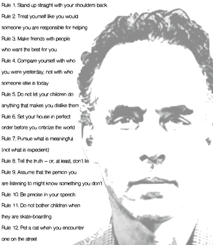 całkowicie stylowy świetna jakość wyprzedaż ze zniżką Jordan Peterson 12 Rules for Life | Art Print