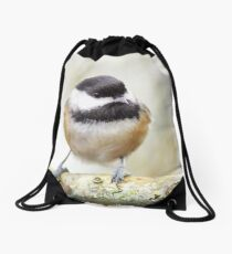 Chickadee Drawstring Bag