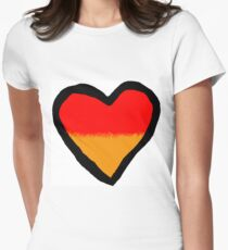 Valentine Day Special Heart 6 Women's Fitted T-Shirt