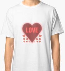 Valentine Day Special Heart 8 Classic T-Shirt