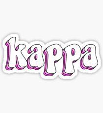 Kappa Retro Sticker