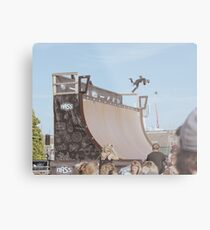 Big Half Pipe Bail Metal Print