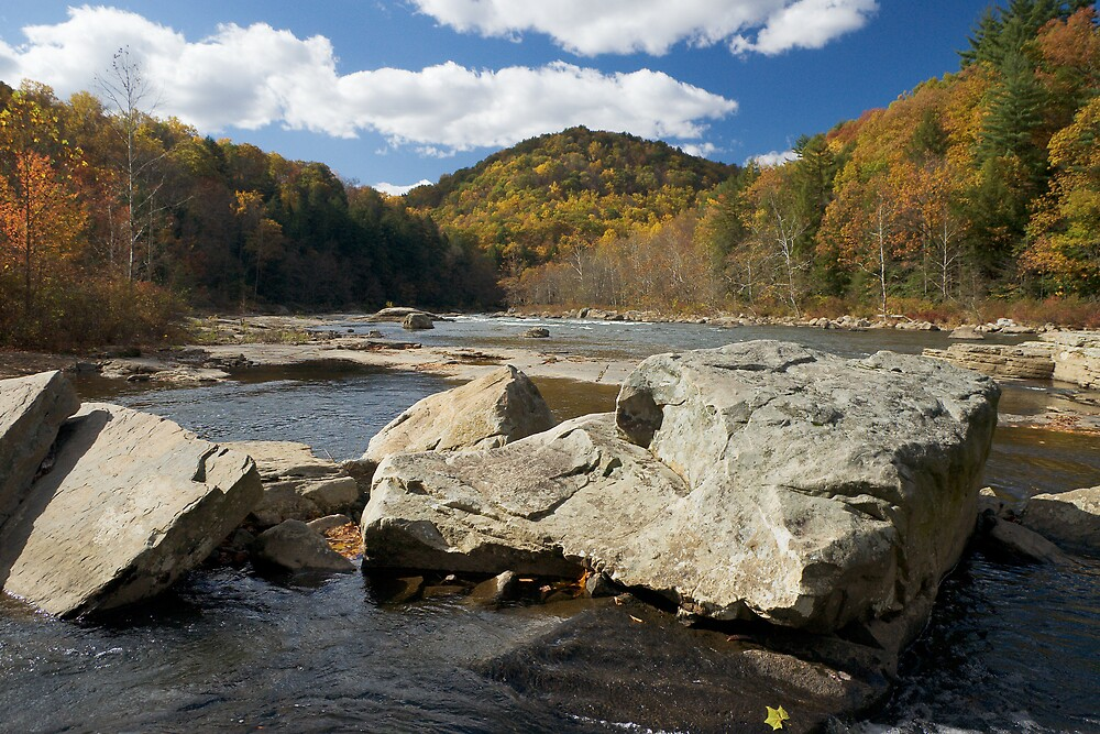 Fall At Ohiopyle by Martin  Mozzocchi