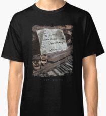 Tom Waits-Piano-Jazz-Music-Drinking Classic T-Shirt