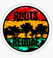 roots - reggae Sticker