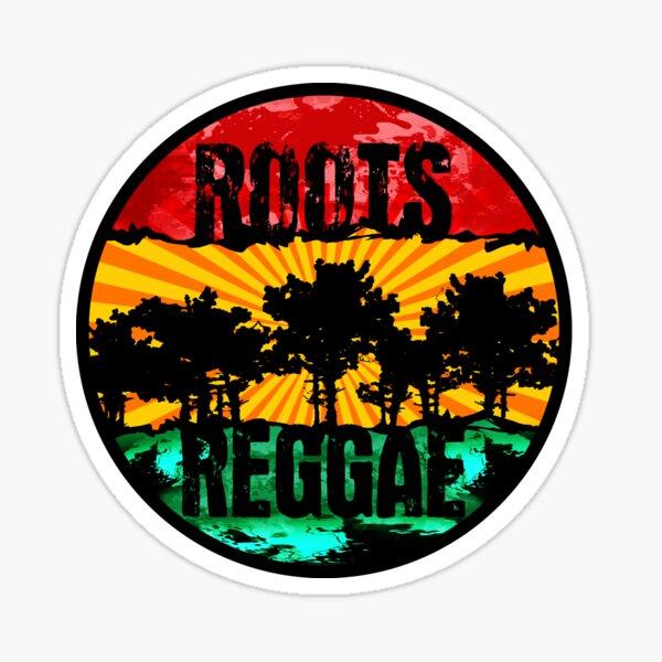 raíces - reggae22 Pegatina