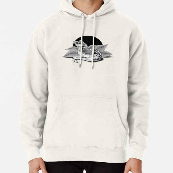 Poisonous Pseudodragon (Grey Scale) Pullover Hoodie