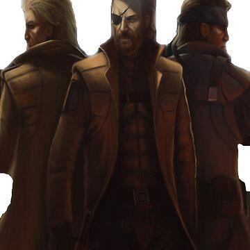 Metal Gear Solid by deathlesseye