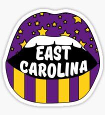East Carolina Lips Sticker