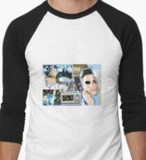 Sheeple Men's Baseball ¾ T-Shirt