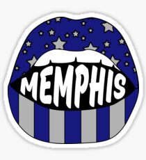 Memphis Lips Sticker