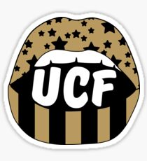 UCF Lips Sticker