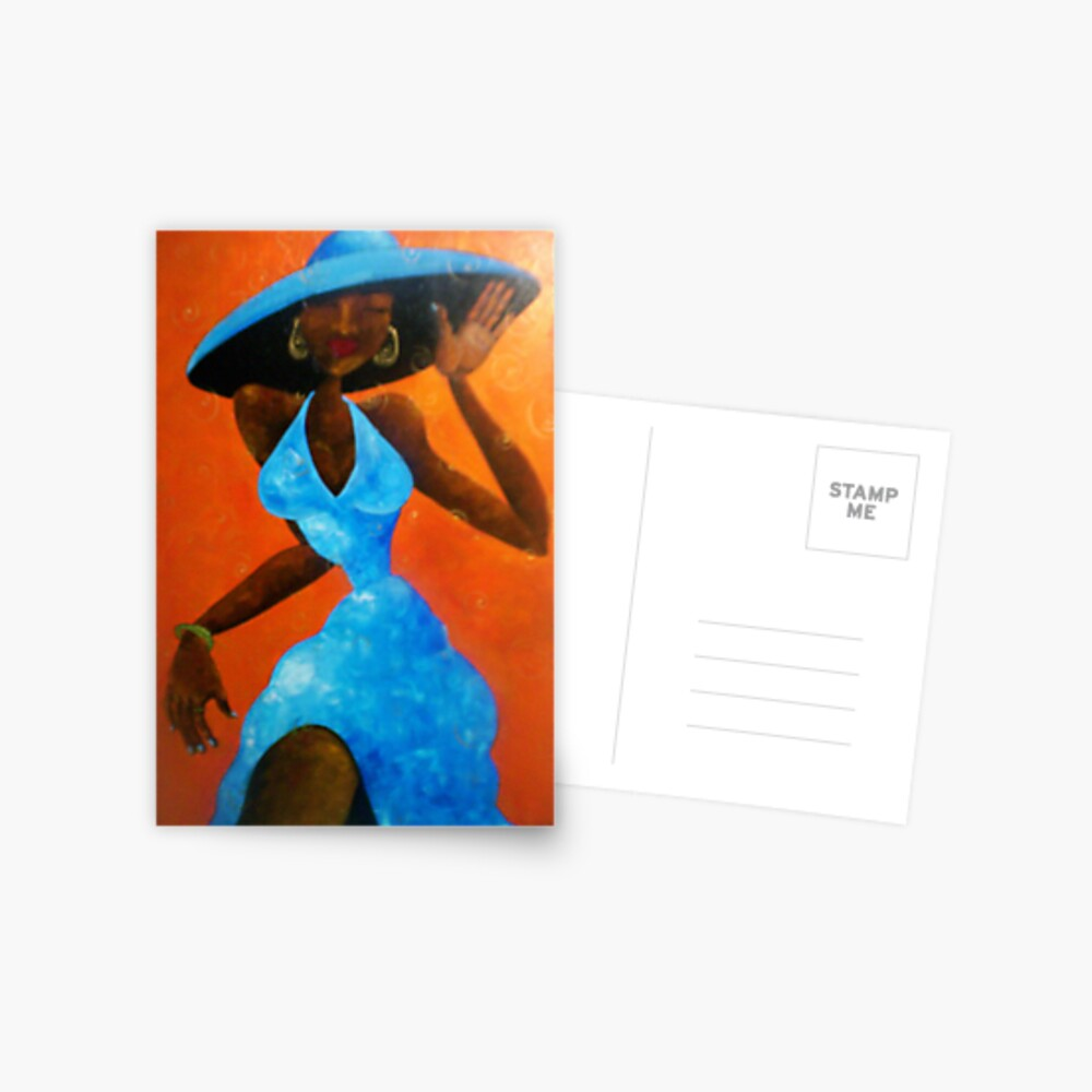 Girlfriend Postcard