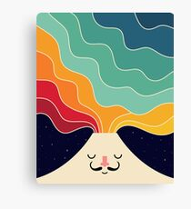 Keep Think Creative Canvas Print