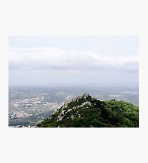 A view of the Castle of the Moors Photographic Print