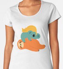 Being Lazy Women's Premium T-Shirt