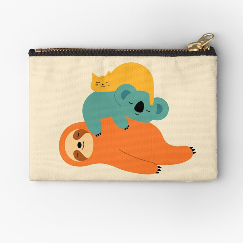 Being Lazy Zipper Pouch