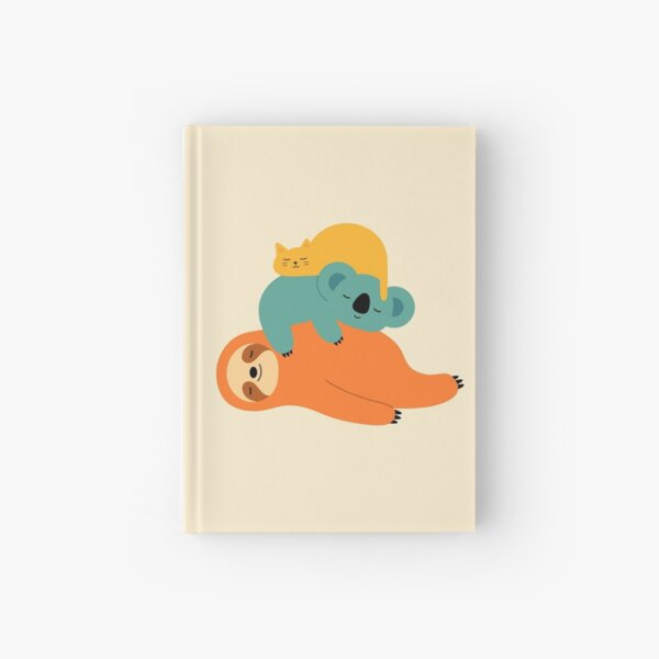 Being Lazy Hardcover Journal