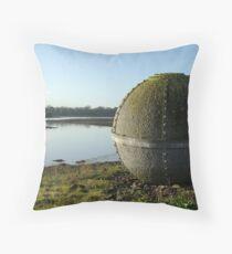 Foaty Island Throw Pillow