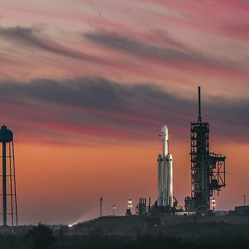 SpaceX Falcon Heavy on the Launch Pad (8K resolution) by bobbooo