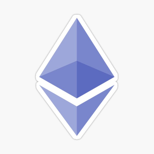 Ethereum Cryptocurrency  Sticker