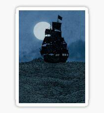 Sailing Under The Moon Sticker