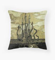 Kraken Hug Throw Pillow