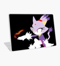 Sonic the hedgehog - Simplistic Blaze the Cat Laptop Skin