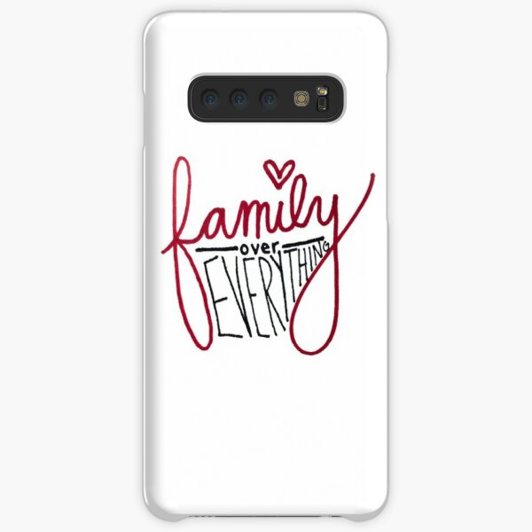 family over everything Samsung Galaxy Snap Case