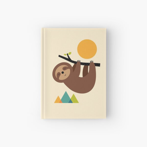 Keep Calm And Live Slow Hardcover Journal
