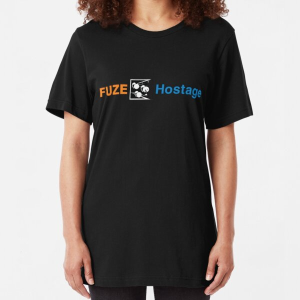 Fuze the Hostage (win) [Roufxis - RB] Slim Fit T-Shirt