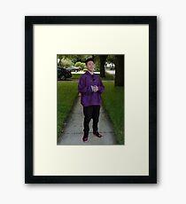 rich brian - meme Framed Print
