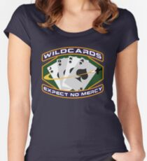 Wildcards Expect No Mercy Women's Fitted Scoop T-Shirt
