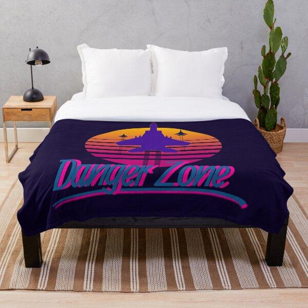 Danger Zone Throw Blanket