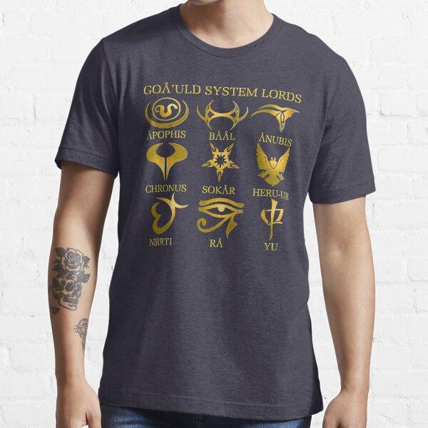 Goa'uld System Lords T-shirt essentiel