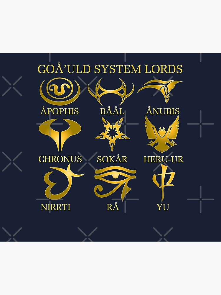 Goa'uld System Lords by McPod