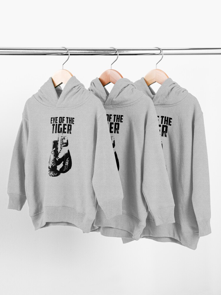 Alternate view of Eye of the Tiger Toddler Pullover Hoodie