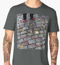 Red Shoes and Stumbling Stone Men's Premium T-Shirt