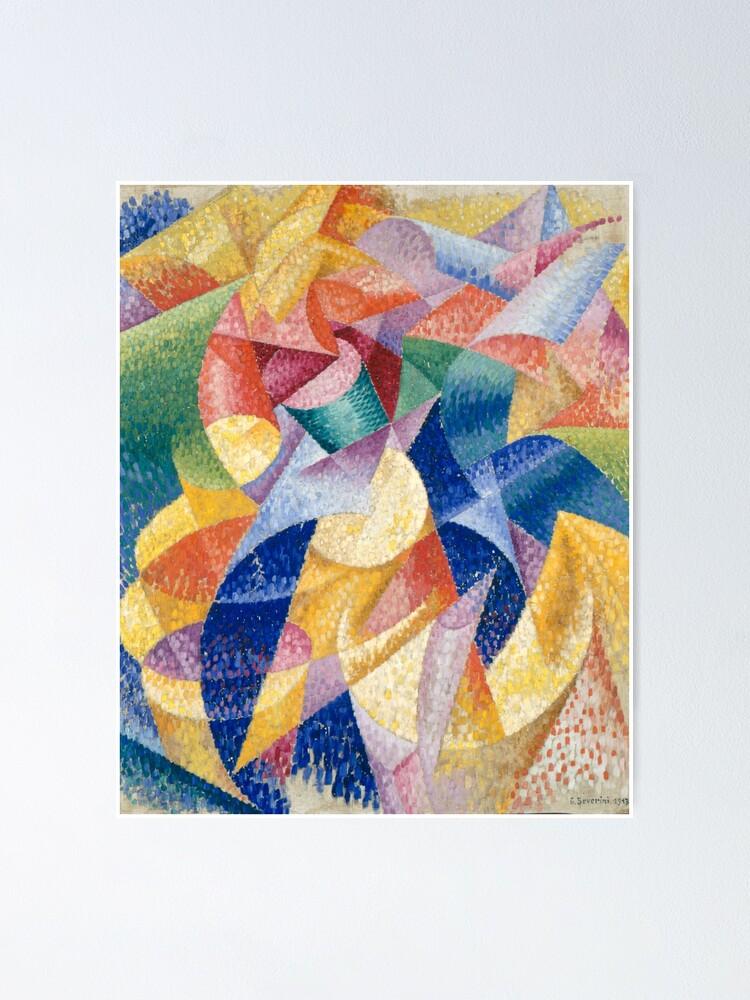 Alternate view of artist, painter, craftsman, Gino Severini, futurism, futurist, art Poster