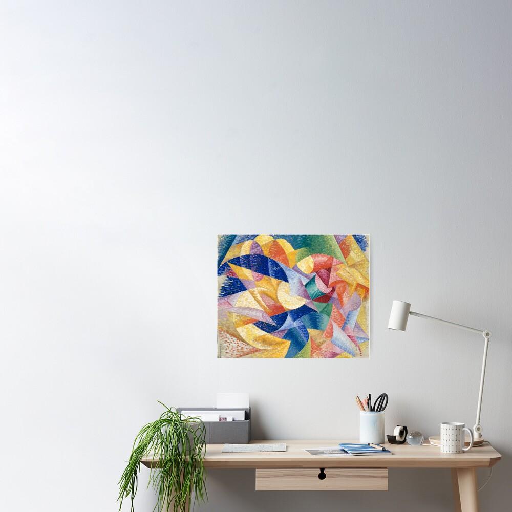#Artist, #painter, #craftsman, #Gino #Severini, #futurism, #futurist, #art, #GinoSeverini Poster