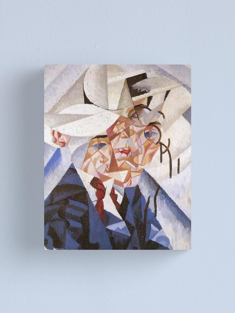Alternate view of artist, painter, craftsman, Gino Severini, futurism, futurist, art Canvas Print