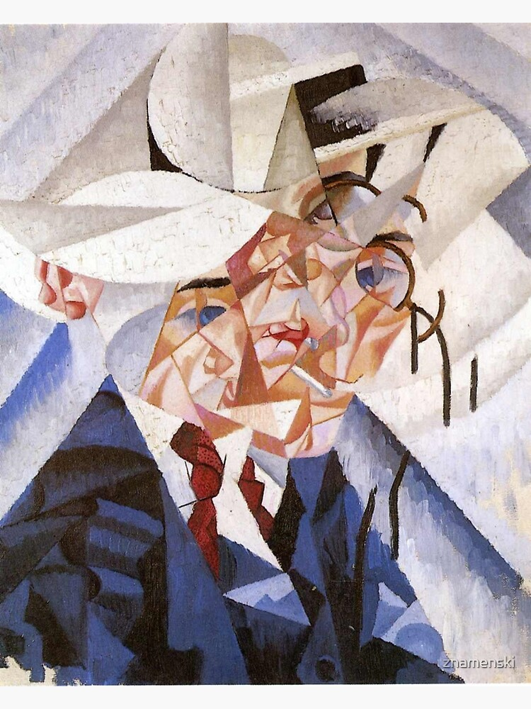 artist, painter, craftsman, Gino Severini, futurism, futurist, art by znamenski