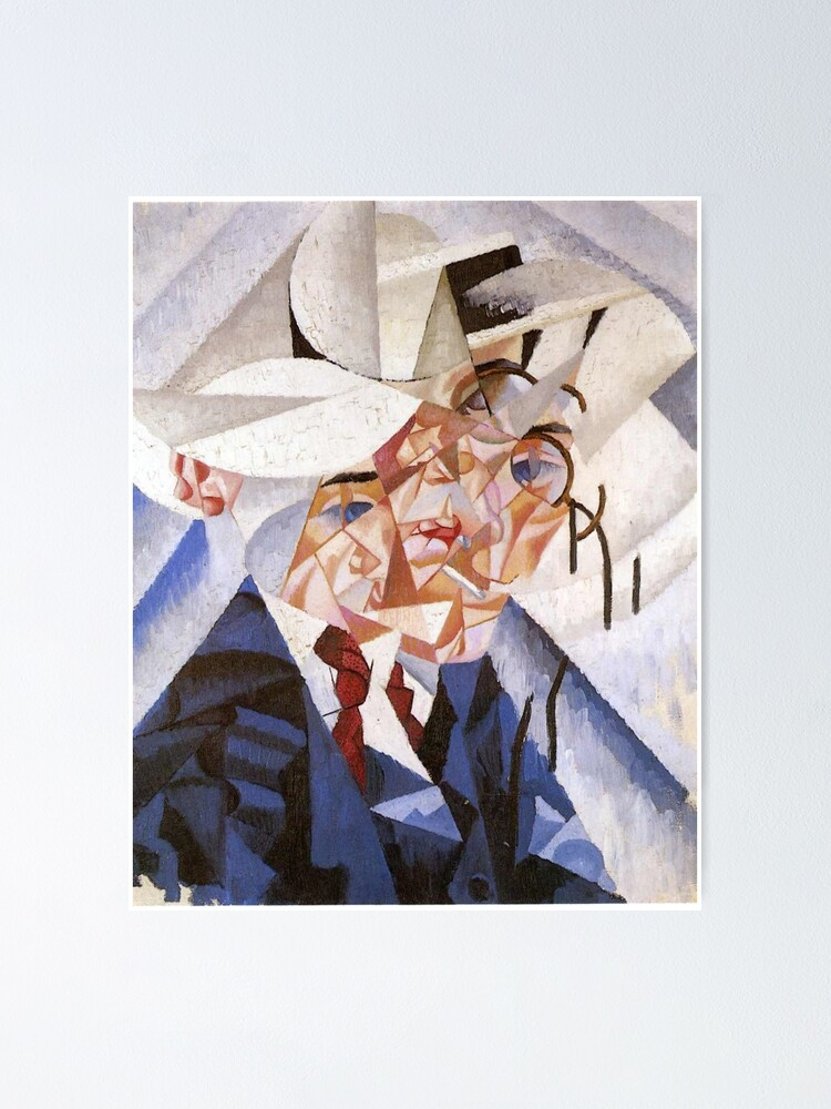 Alternate view of artist, painter, craftsman, Gino Severini, futurism, futurist, art Poster