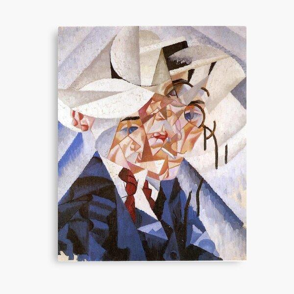 artist, painter, craftsman, Gino Severini, futurism, futurist, art Canvas Print