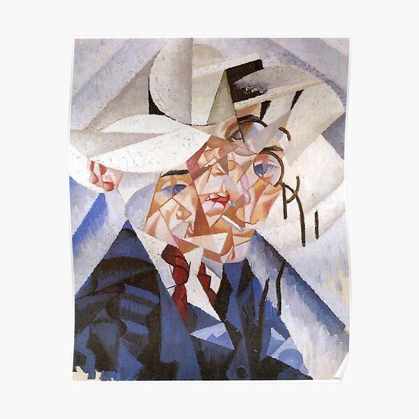 artist, painter, craftsman, Gino Severini, futurism, futurist, art Poster