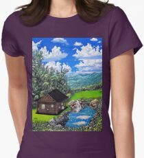 dream home  Womens Fitted T-Shirt