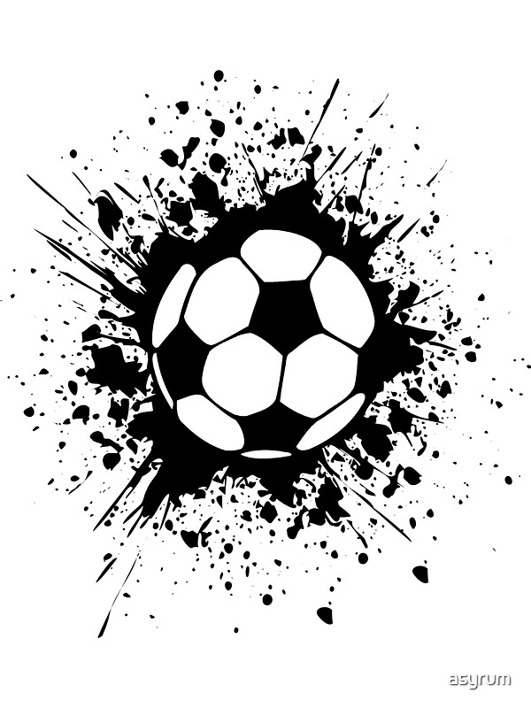 t shirt skreened futbol soccer splatz stickers by asyrum redbubble - Soccer T Shirt Design Ideas