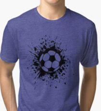 futbol : soccer splatz Tri-blend T-Shirt